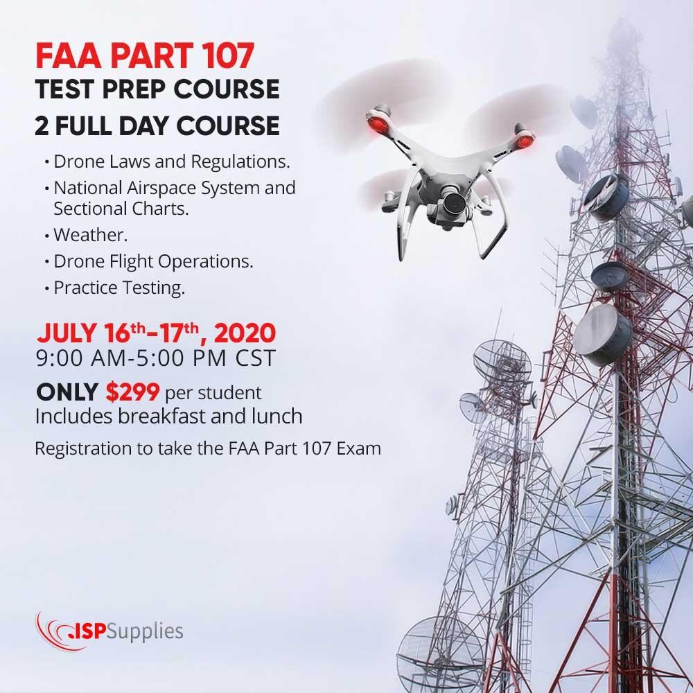 Drones FAA Part 107 Test Prep Course