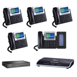 GrandStream Full VOIP PBX Starter kit