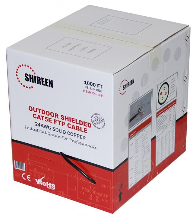 Shireen 1000Ft, Outdoor Shielded Cat5E