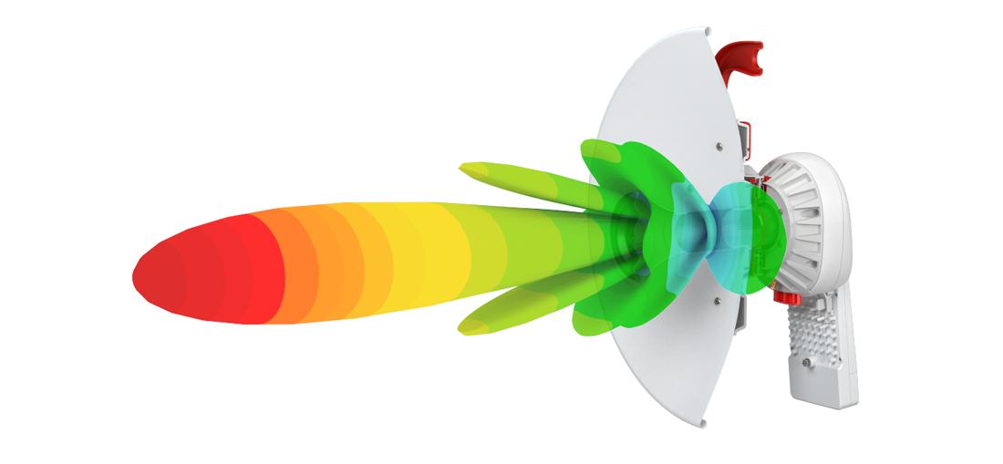 Rf Elements Ultradish Tp 400 Parabolic Antenna, 5Ghz, 24Dbi