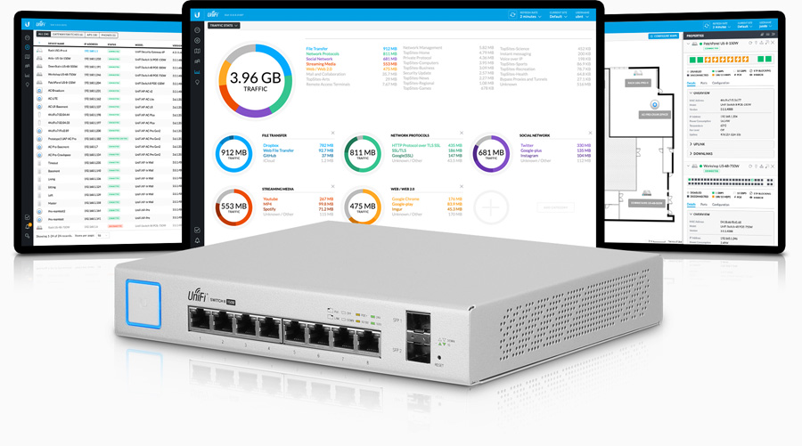 Ubiquiti US-8-150W UniFi Switch 8 150W