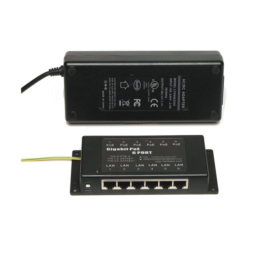 WiFi Texas WS-GPOE-AT-6-56v120w